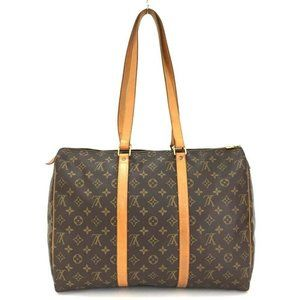 100% Auth Louis Vuitton Flannely 45 Boston Bag